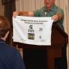 Yes, Bill receives the Crying Towel for the loss to the cross state rivals, Michigan State.